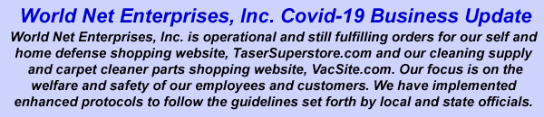 World Net Enterprises, Inc. is still operational during Covid-19 pandemic.